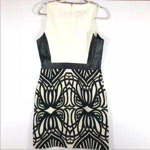 Anthropologie Dresses - NWT 4.Collective Anthro Black Gold Metallic Dress